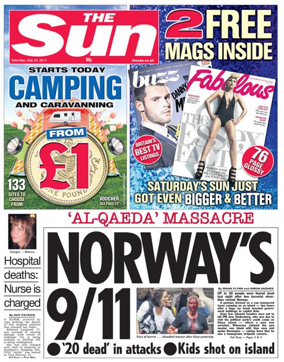 The Sun Titelblatt