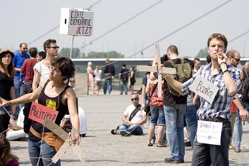 21.Mai Proteste für mehr Demokratie in Düsseldorf