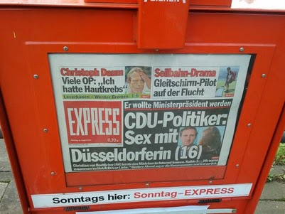 Es wra eine Düsseldorferin