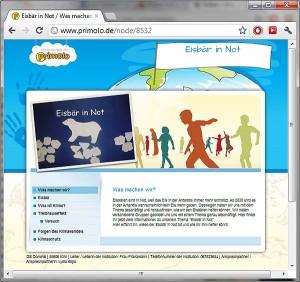 "Screenshot ""Eisbär in Not"""