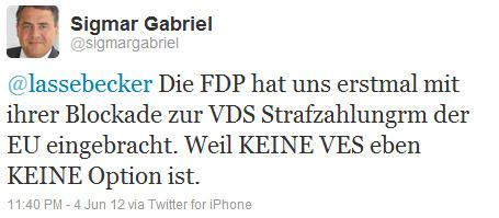 @lassebecker Die FDP hat uns erstmal mit ihrer Blockade zur VDS Strafzahlungrm der EU eingebracht. Weil KEINE VES eben KEINE Option ist.
