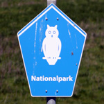 Nationalparkschild