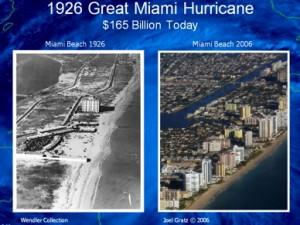 """""""Great Miami Hurricane"""" von 1926 - Wieviel Schaden er wohl heute anrichten würde?"""