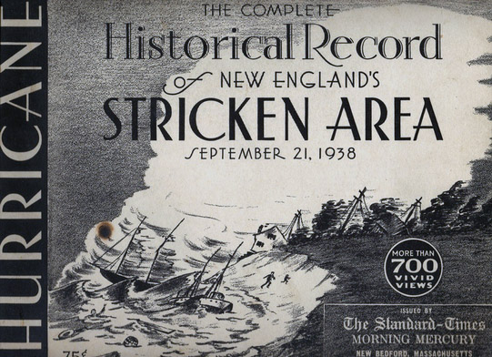 Historical Record of New Englands Stricken Area (1938)