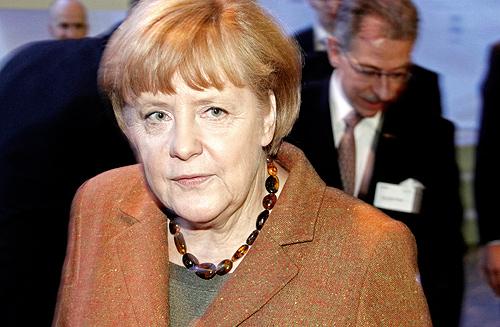 Angela Merkel, Siegerin ohne Mehrheit: Wer will jetzt mit ihr gehen? Foto: (c) 2012 Dennis Knake