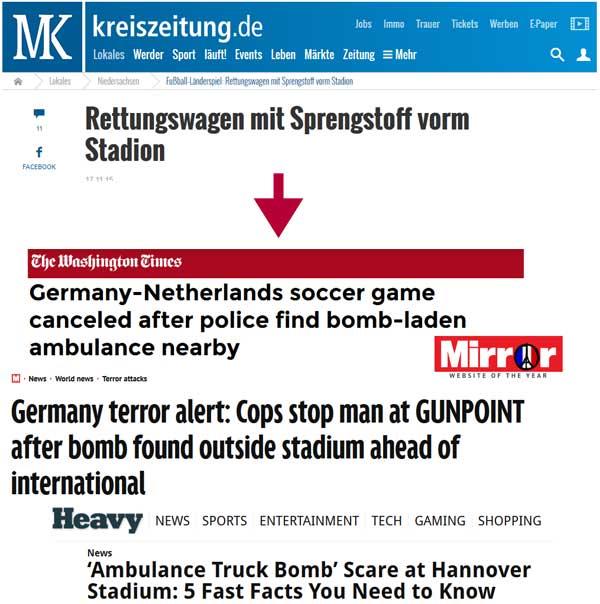 Screenshots: Kreiszeitung und die Folgen