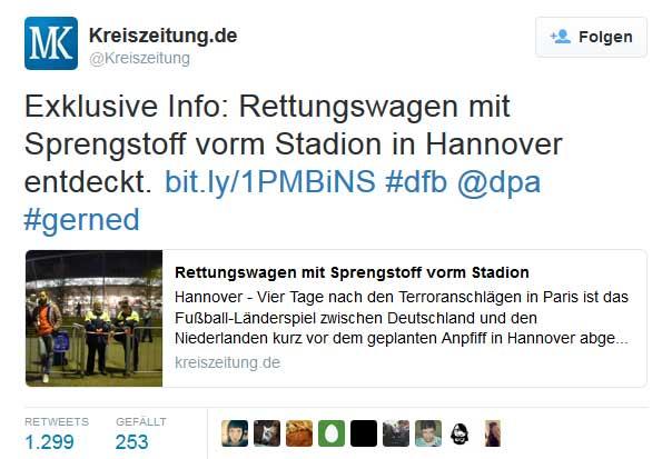Kreiszeitung Exklusive Info